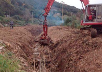 scavi, escavazioni, sistemazione terreni, isola d'elba