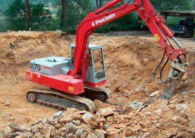 scavi, escavazioni, isola d'elba